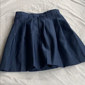 French toast pleated skirt